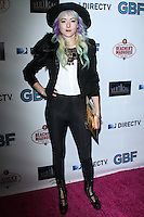 """HOLLYWOOD, CA - NOVEMBER 19: Kit Scarbo arriving at the """"G.B.F."""" Los Angeles Premiere held at the Chinese 6 Theater Hollywood on November 19, 2013 in Hollywood, California. (Photo by David Acosta/Celebrity Monitor)"""