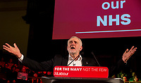 Jeremy Corbyn NHS speech