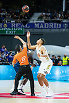 Eddy Tavares during Real Madrid vs Kirolbet Baskonia game of Liga Endesa. 19 January 2020. (Alterphotos/Francis Gonzalez)