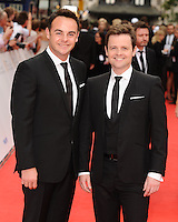 Ant and Dec arriving for the BAFTA Television Awards 2010 at the London Palladium. 06/06/2010  Picture by: Steve Vas / Featureflash