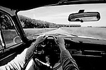 Onboard a Porsche 911 T ( 1970 ) throughout the Reims region.