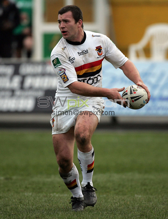 PICTURE BY BEN DUFFY -Rugby League Super League - Bradford Bulls v Salford Reds- 11/03/07..Copryright-SWpix 01943608782..Bradford's Iestyn Harris