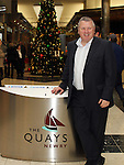 Cathal Austin (Centre Manager) at The Quays Shopping Centre, Newry...(Photo credit should read Jenny Matthews www.newsfile.ie)....This Picture has been sent you under the conditions enclosed by:.Newsfile Ltd..The Studio,.Millmount Abbey,.Drogheda,.Co Meath..Ireland..Tel: +353(0)41-9871240.Fax: +353(0)41-9871260.GSM: +353(0)86-2500958.email: pictures@newsfile.ie.www.newsfile.ie.