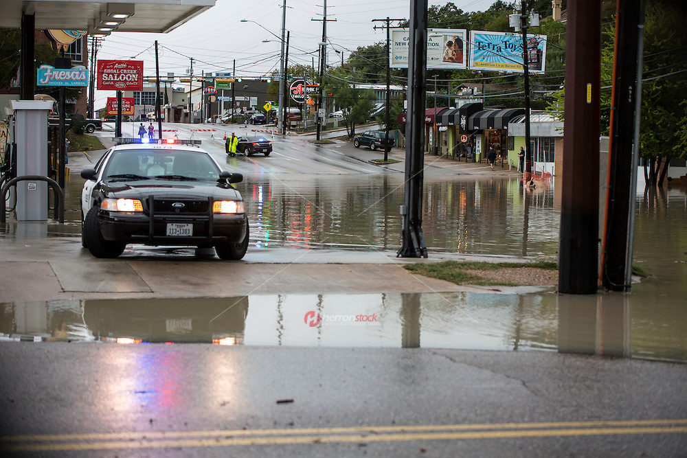 Forecasters say flooded parts of Austin, Texas can't handle another soaking after getting upward of 16 inches of rain in a matter of hours.