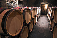 barrel aging cellar domaine chevalier p&f ladoix cote de beaune burgundy france