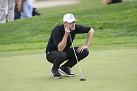 Jeff Winther (DEN) on the 10th green during Round 3 of the Open de Espana 2018 at Centro Nacional de Golf on Saturday 14th April 2018.<br /> Picture:  Thos Caffrey / www.golffile.ie<br /> <br /> All photo usage must carry mandatory copyright credit (&copy; Golffile | Thos Caffrey)