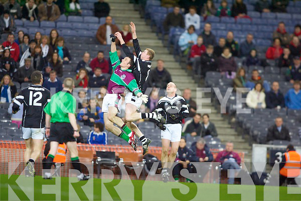 Ardfert v Eoghan Rua of Coleraine in the All Ireland Intermediate final in Croke Park on Saturday Night.