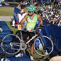 Cristian de la Fuente at the 5th Annual Nautica South Beach Triathlon to benefit the St. Jude Children.s Research Hospital. Miami Beach, Florida. April 1, 2012. © Majo Grossi/MediaPunch Inc.