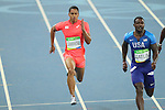 Aska Cambridge (JPN), <br /> AUGUST 14, 2016 - Athletics : <br /> Men's 100m Semi-final <br /> at Olympic Stadium <br /> during the Rio 2016 Olympic Games in Rio de Janeiro, Brazil. <br /> (Photo by YUTAKA/AFLO SPORT)