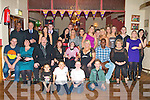 BIRTHDAY GIRL: Mandy O'Connor, Spa Road (seated 6th left) enjoying a great time celebrating her 30th birthday with a large group of family and friends at the Mitchels clubhouse on Saturday.