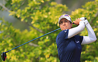 Marina Alex (USA) in action on the 3rd during Round 3 of the HSBC Womens Champions 2018 at Sentosa Golf Club on the Saturday 3rd March 2018.<br /> Picture:  Thos Caffrey / www.golffile.ie<br /> <br /> All photo usage must carry mandatory copyright credit (&copy; Golffile | Thos Caffrey)