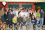 POOL: The large crowd who gathered with the family of the late Tomas Mitchell, Currow, for the inaugural Tomas Mitchell Cup Pool Tournament in Ulicks bar, Farranfore, on Sunday.   Copyright Kerry's Eye 2008