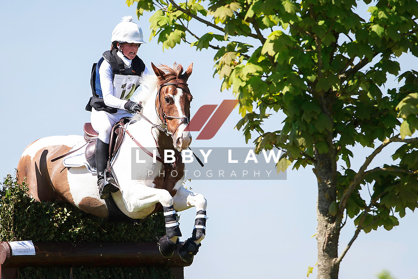 IRL-Isabelle Comerford (COLOUR ME FANCY) INTERIM-3RD: BERNEY BROTHERS CCI1* Ponies: 2016 IRL-Tattersalls International Horse Trial (Friday 3 June) CREDIT: Libby Law COPYRIGHT: LIBBY LAW PHOTOGRAPHY