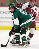 Jenna Hobeika (Dartmouth - 6), Jillian Dempsey (Harvard - 14) - The visiting Dartmouth College Big Green defeated the Harvard University Crimson 3-2 on Wednesday, November 23, 2011, at Bright Hockey Center in Cambridge, Massachusetts.