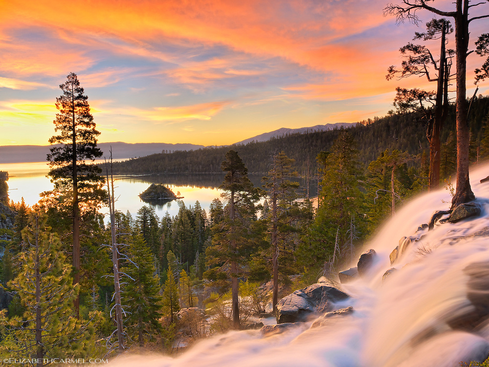 Morning Blessing, Emerald Bay
