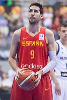 Spain Sergi Vidal during FIBA European Qualifiers to World Cup 2019 between Spain and Slovenia at Coliseum Burgos in Madrid, Spain. November 26, 2017. (ALTERPHOTOS/Borja B.Hojas) /NortePhoto NORTEPHOTOMEXICO