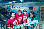 Patricia O'Connor (Kilflynn) Gretta O'Connor (Lisselton) Anne Hussey (Kilflynn) and Majella O'Connell (Tralee), who took part in Swim for a Mile at Tralee Sports Complex on Sunday last.