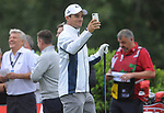 Scotland's Max Evans takes a selfie <br /> <br /> Celebrity Cup 2019 - Golf - Celtic Manor resort - Saturday 13th July 2019 - Newport<br /> <br /> © www.fotowales.com- PLEASE CREDIT IAN COOK