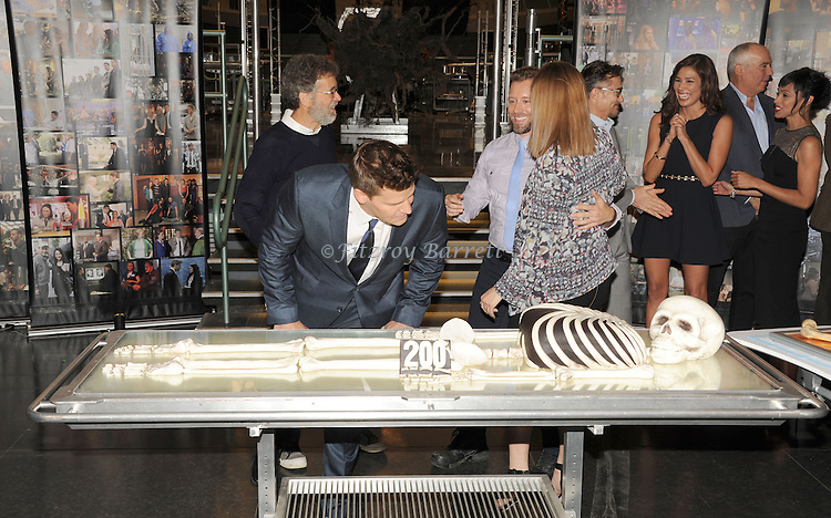 David Boreanaz at the BONES 200th Episode Celebration held at FOX Studios in Los Angeles, CA. November 14, 2014.