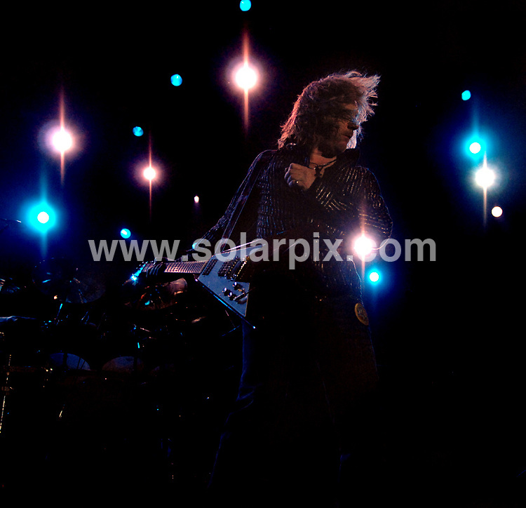 **ALL ROUND PICTURES FROM SOLARPIX.COM**.**WORLDWIDE SYNDICATION RIGHTS**.Thunder in concert at the Liverpool Echo Arena, Liverpool, UK. 15th July 2008..This pic: Luke Morley from Thunder..JOB REF: 6845 SGD     DATE: 15_07_2008.**MUST CREDIT SOLARPIX.COM OR DOUBLE FEE WILL BE CHARGED* *UNDER NO CIRCUMSTANCES IS THIS IMAGE TO BE REPRODUCED FOR ANY ONLINE EDITION WITHOUT PRIOR PERMISSION*