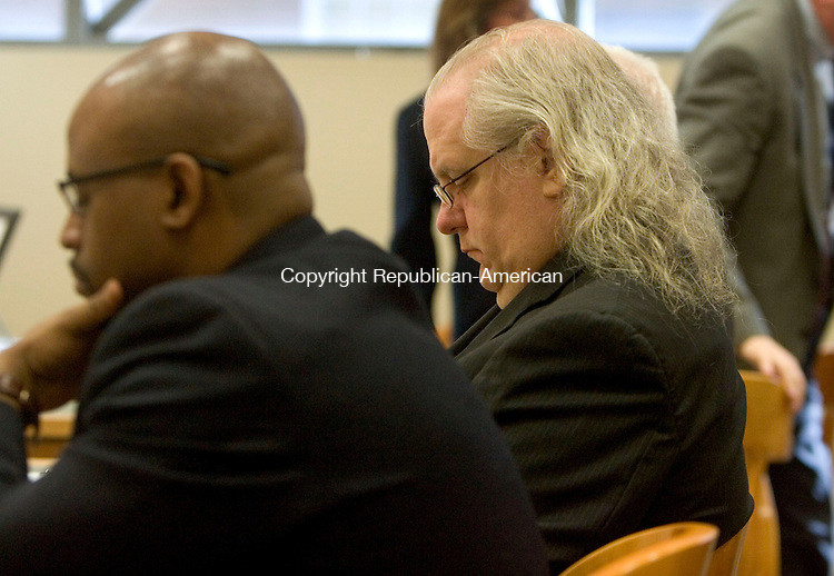 WATERBURY CT. 17 January 2014-011714SV03-Patrick Cannon, convicted of murdering his wife Cynthia inside their Wolcott home, was sentenced in Superior Court in Waterbury Friday.<br /> Steven Valenti Republican-American
