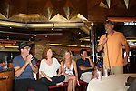 Robert Bogue - Liz Keifer - Mandy Bruno - Michael O'Leary - Grant Aleksander - Fans and Liz Keifer play bingo and have a Meet & Greet - Day 2 - August 1, 2010 - So Long Springfield at Sea aboard Carnival's Glory (Photos by Sue Coflin/Max Photos)