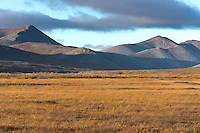 Kigluiak mountains, Seward Peninsula, Teller highway, arctic, Alaska.