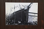 Photo of ship launch at the Maritime museum, Porthmadog, Gwynedd, north west Wales, UK