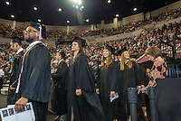 Spring 2016 MSU Graduation at Humphrey Coliseum Saturday Ceremony<br />  (photo by Robert Lewis / &copy; Mississippi State University)
