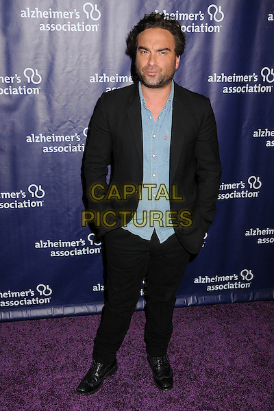 18 March 2015 - Beverly Hills, California - Johnny Galecki. 23rd Annual &quot;A Night at Sardi's&quot; Benefit for the Alzheimer's Association held at The Beverly Hilton Hotel. <br /> CAP/ADM/BP<br /> &copy;BP/ADM/Capital Pictures