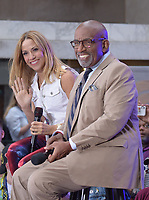 NEW YORK, NY - SEPTEMBER 6: Sheryl Crow and Al Roker on NBC's Today Show Citi Summer Concert Series at Rockefeller Center in New York City on September 6, 2019. <br /> CAP/MPI/JP<br /> ©JP/MPI/Capital Pictures