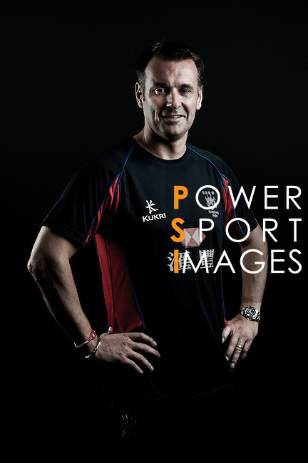 Dai Rees poses during the Hong Kong 7's Squads Portraits on 5 March 2012 at the King's Park Sport Ground in Hong Kong. Photo by Andy Jones / The Power of Sport Images