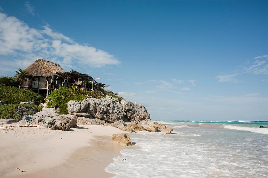 Azulik Hotel, Tulum, Quintana Roo, mexico