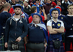Dejected Scotland fans following the first goal during the FIFA World Cup Qualifying Group F match at Wembley Stadium, London. Picture date: November 11th, 2016. Pic David Klein/Sportimage