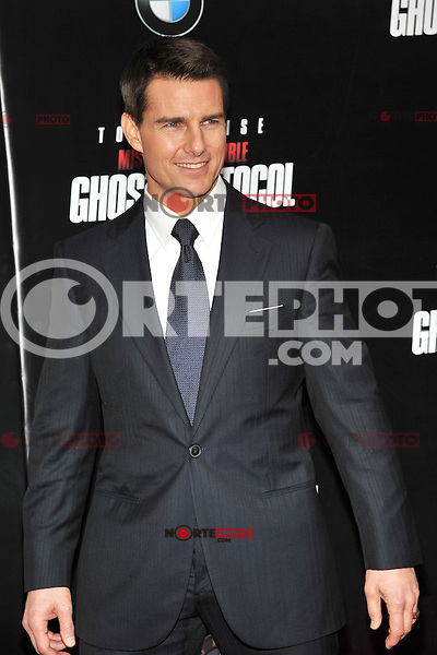 Tom Cruise at the U.S. Premiere Of 'Mission Impossible - Ghost Protocol' At The Ziegfeld Theatre in New York City. December 19, 2011. ©mpi03/MediaPunch Inc.