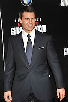 Tom Cruise at the U.S. Premiere Of 'Mission Impossible - Ghost Protocol' At The Ziegfeld Theatre in New York City. December 19, 2011. © mpi03/MediaPunch Inc.