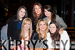 Celina McSweeney, Glenbeigh who celebrated her 25th birthday with her friends in Scotts Hotel Killarney on Saturday night front row l-r: Chloe Murphy, Aine O'Shea, Fiona O'Connor. Back row: Sarah Edwards, Celina McSweeney and Aisling Quirke