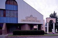 Grande-Anse, NB, New Brunswick, Canada - the Popes' Museum