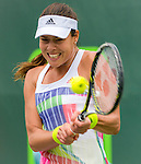 Ana Ivanovic (SRB) defeats Teliana Pereira (BRA) by 6-3, 6-0