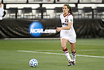 02 December 2011: Stanford's Kendall Romine. The Stanford University Cardinal defeated the Florida State University Seminoles 3-0 at KSU Soccer Stadium in Kennesaw, Georgia in an NCAA Division I Women's Soccer College Cup semifinal game.