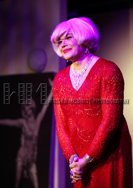 "Richard Skipper as ""Carol Channing"" - In Concert.performing at St. Luke's Theatre in New York City"