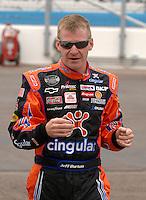 Apr 20, 2007; Avondale, AZ, USA; Nascar Nextel Cup Series driver Jeff Burton (31) during practice for the Subway Fresh Fit 500 at Phoenix International Raceway. Mandatory Credit: Mark J. Rebilas