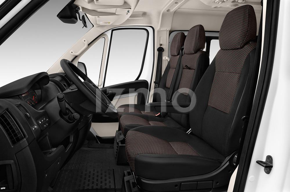 Front seat view of a 2017 Citroen Jumper Combi Confort 4 Door Combi front seat car photos