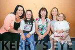 At the Cordal fundraising dance in the Castleisland Community Centre on Friday were Joanne O Sullivan, Amy O'Sullivan, Breda Brosnan, Lisa Brosnan and Molly O'Grady