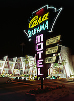 Casa Bahama Motels Neon Sign.