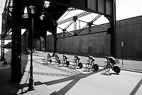 Hincapie Cycling Team (USA) out on the course<br /> <br /> Elite Men&rsquo;s Team Time Trial<br /> UCI Road World Championships Richmond 2015 / USA