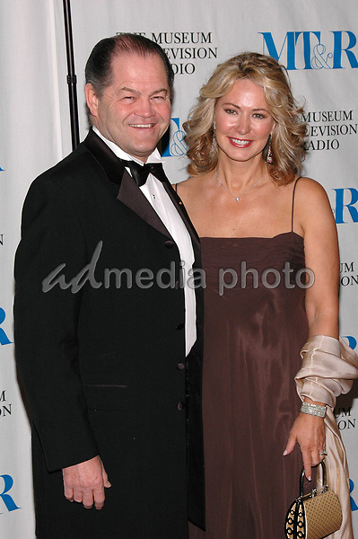 26 May 2005 - New York, New York - Micky Dolenz and his wife Donna arrive at The Museum of Television and Radio's Annual Gala where Merv Griffin is being honored for his award winning career in radio and television.<br />Photo Credit: Patti Ouderkirk