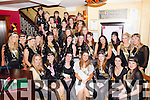 Jessica Lynch, Cork, seated centre who celebrated her hen party with her friends from Glenflesk and Killarney in Lord Kenmare's restaurant on Saturday night