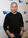 "John Plumpis attends the TACT/The Actors Company Theatre Cast Meet & Greet for  ""Three Wise Guys"" on February 15, 2018 at the TACT Studios in New York City."