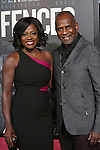 Viola Davis and Julius Tennon attends the 'Fences' New York screening at Rose Theater, Jazz at Lincoln Center on December 19, 2016 in New York City.